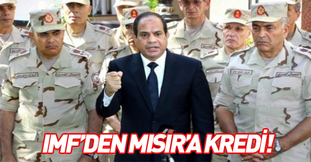 IMF'den Mısır'a 12 milyar dolar kredi