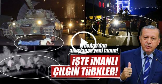 İşte İmanlı Çılgın Türkler!