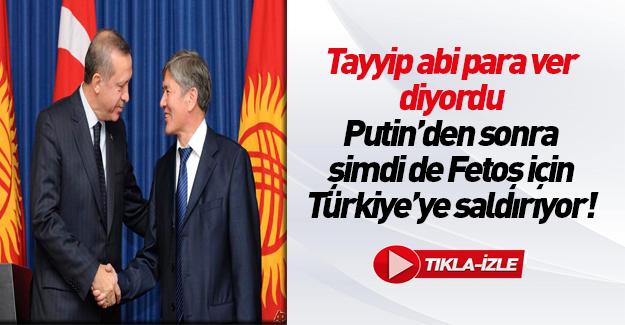 Kırgızistan Cumhurbaşkanı: Çavuşoğlu'nun iddiaları absürt