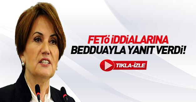 Meral Akşener CNN Türk'teki sözleri duyunca beddua etti