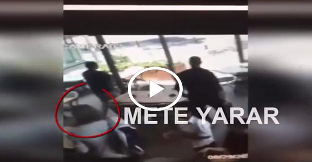 Mete Yarar'a silahlı saldırı anı kamerada