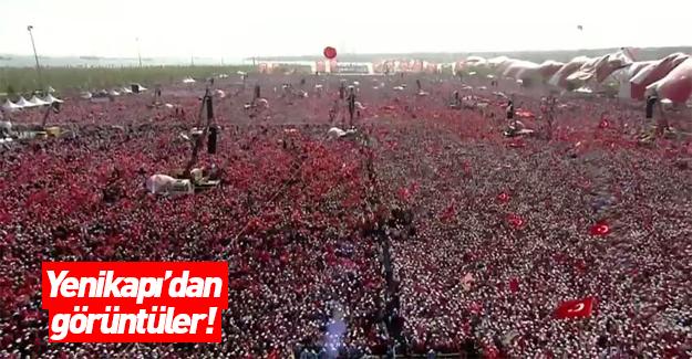 Milyonlar Yenikapı'da