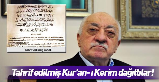 Murat Bardakçı: Zaman tahrif edilmiş Kur'an meali dağıttı