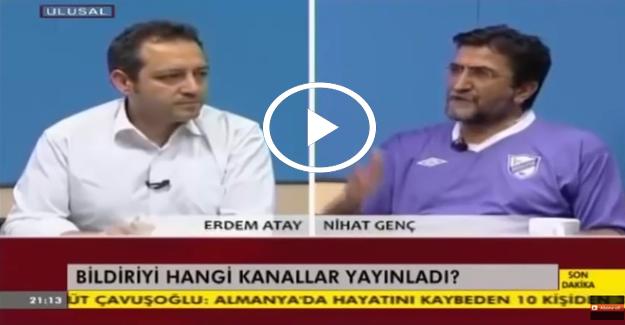 Nihat Genç'ten Halk TV ve Cumhuriyet Gazetesine sert eleştiri