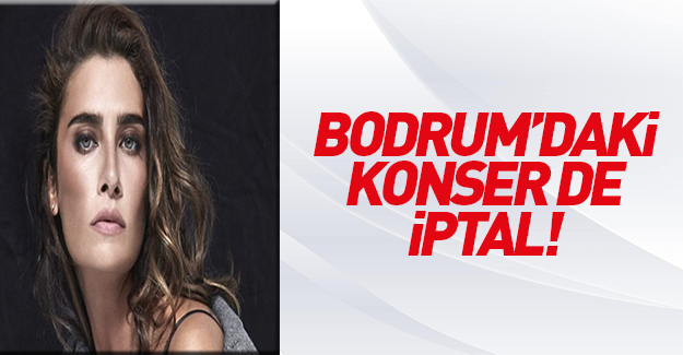 Sıla'nın Bodrum'daki konseri iptal edildi