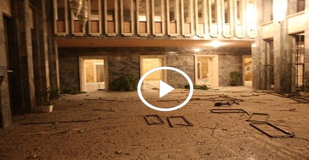 TBMM'nin FETÖ'cü hainler tarafından bombalandığı anın yeni görüntüleri ortaya çıktı