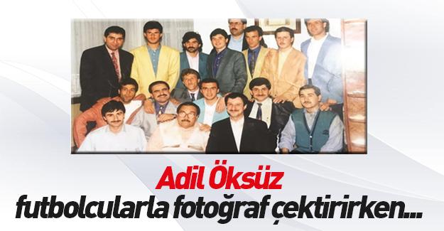 Adil Öksüz'ün GS'li futbolcularla fotoğrafı ortaya çıktı