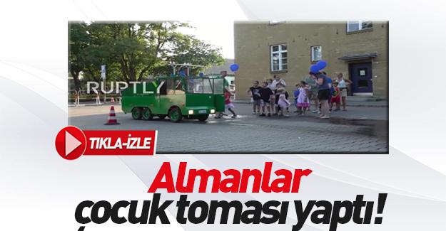 Alman TOMA'sı çocuklara uyarlandı