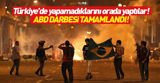 Brezilya'da 'ABD darbesi' tamamlandı