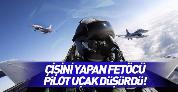 Çişini yapan pilot F-16'yı düşürmüş!