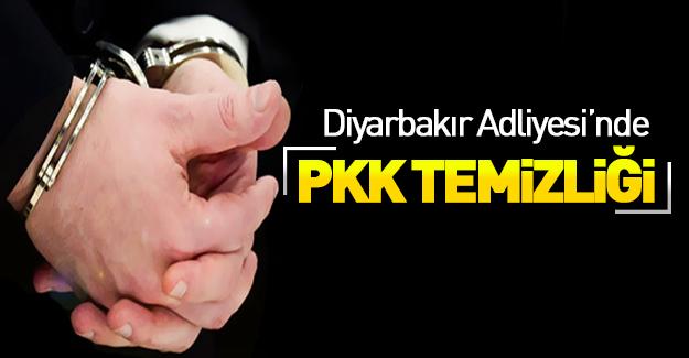 Diyarbakır Adliyesi'nde PKK temizliği!