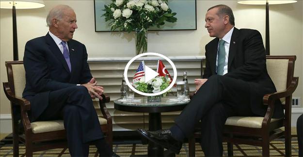 Erdoğan'dan Biden'a tarihi ayar!