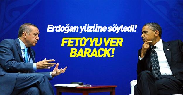 Erdoğan ve Obama görüşmesinde Gülen'in iadesi gündemde