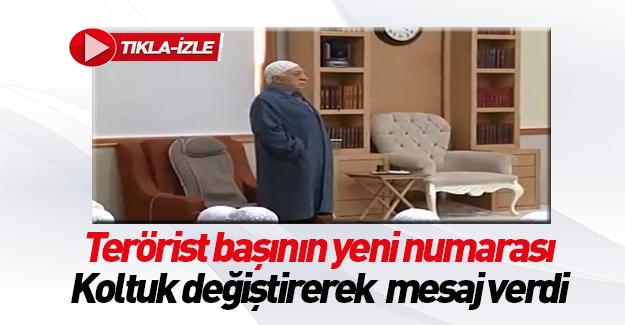 Gülen'den koltuk değiştirme numarası