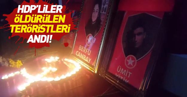 HDP'liler öldürülen teröristi andı