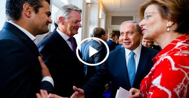 Hollandalı Türk vekil Netanyahu'nun elini sıkmadı