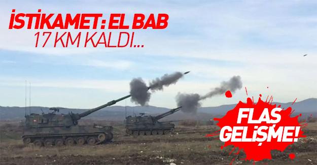 İstikamet El Bab: 17 km kaldı!