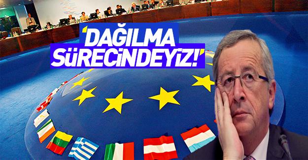 Juncker: Varoluşsal krizdeyiz