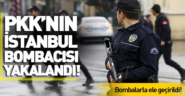 PKK bombacısı İstanbul'da yakalandı!