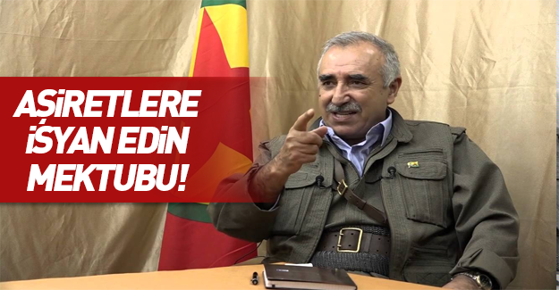 PKK'dan Mardin'deki önemli ailelere isyan mektubu!