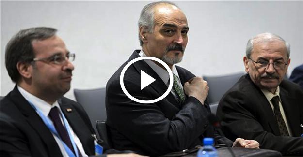 Suriye BM elçisi Halep sorusunu kahkahayla yanıtladı