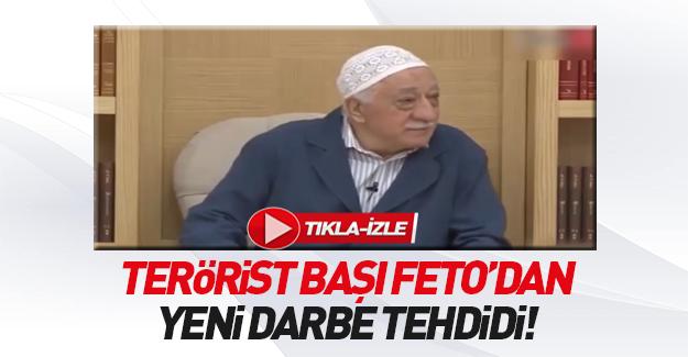 Teröristbaşı Fetullah Gülen'den yeni darbe iması