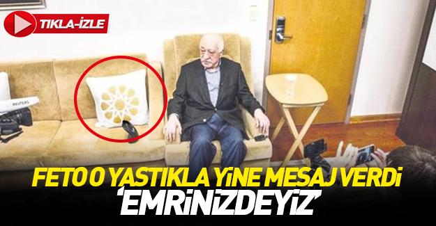 Teröristbaşı Gülen'den  'Emrinizdeyim' mesajı