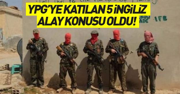 YPG'ye katılan 5 İngiliz alay konusu oldu!