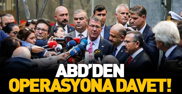 ABD'den Türkiye'ye operasyon davetiyesi!