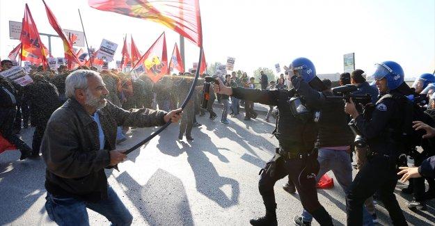 Ankara'da gerginlik! Çok sayıda gözaltı var...