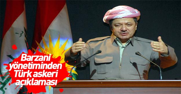 Barzani yönetiminden 'Başika' açıklaması
