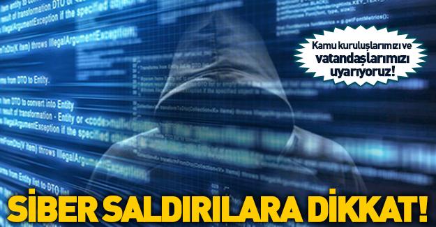 BTK'dan siber saldırı uyarısı!