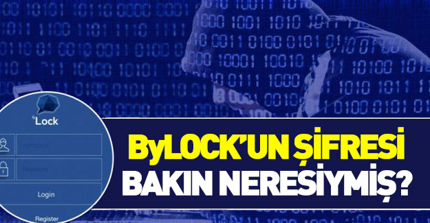 ByLock'un şifreleri çözülüyor!