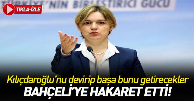 CHP'li Böke'den Bahçeli hakkında çirkin ifadeler
