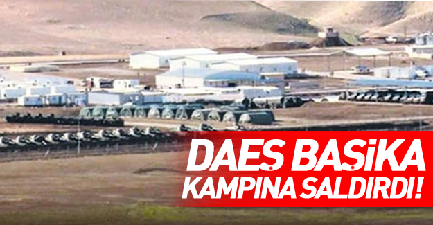 DAEŞ Başika kampına saldırdı