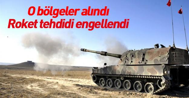 DAEŞ'in Türkiye'ye yönelik roket tehdidi engellendi