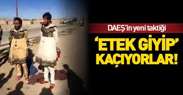 DAEŞ'liler Musul'dan 'etek giyip' kaçıyor