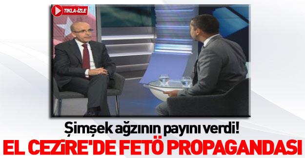 El Cezire muhabiri Şimşek'e saldırdı!