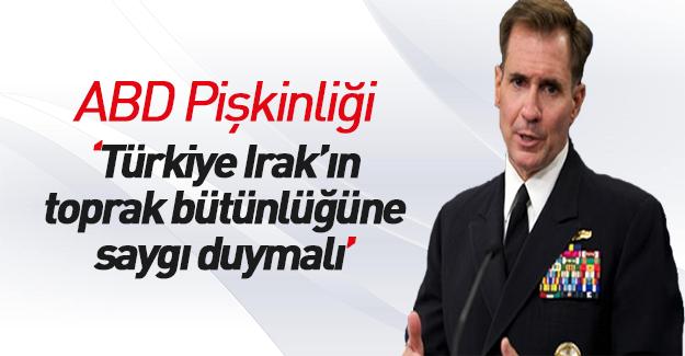 Erdoğan'ın İbadi'ye söylediklerine ABD'den yanıt geldi