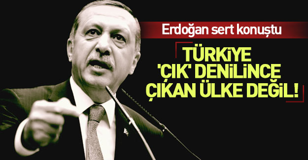 Erdoğan: PKK'da bile bu kadar in görmedik