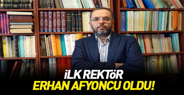 Erhan Afyoncu Milli Savunma Üniversitesi rektörü oldu