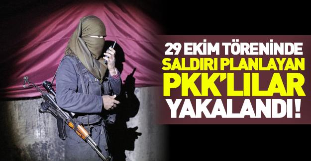 Eylem hazırlığındaki 12 PKK'lı terörist yakalandı!