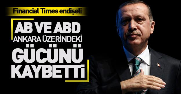 Financial Times'e göre Erdoğan OHAL'i bakın niçin kullanıyormuş