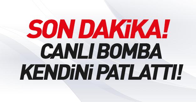 Gaziantep'te hücre evine baskın anında patlama!