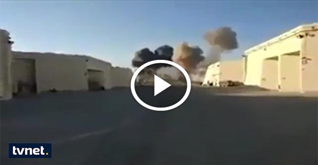 Gazze'yi bombalayan İsrail F-16 uçağı düştü