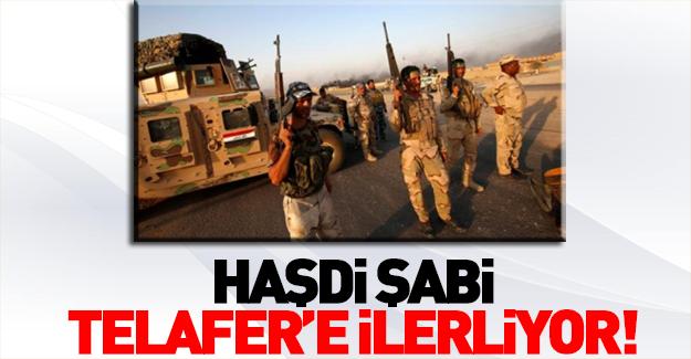 Haşdi Şabi Telafer'e operasyon başlattı!