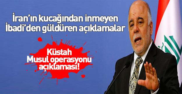 İbadi'den Türkiye için Musul operasyonu açıklaması