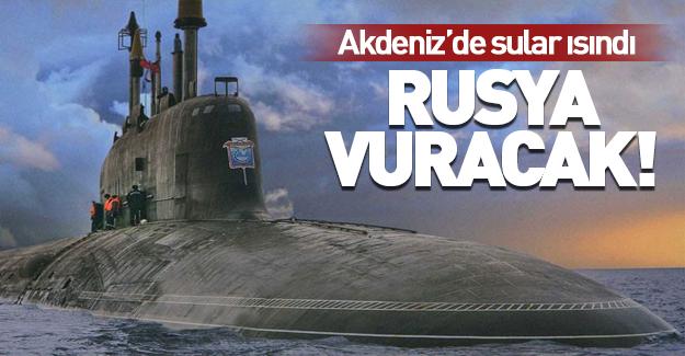 İngilizler manşetten duyurdu: Rusya vuracak!