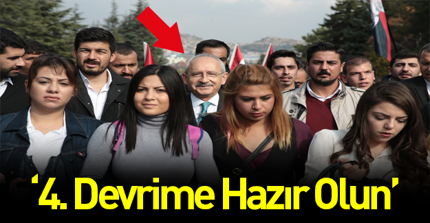Kılıçdaroğlu: 4. devrime hazır olalım