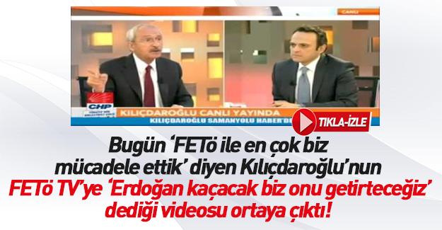 Kılıçdaroğlu'nun FETÖ çelişkisi
